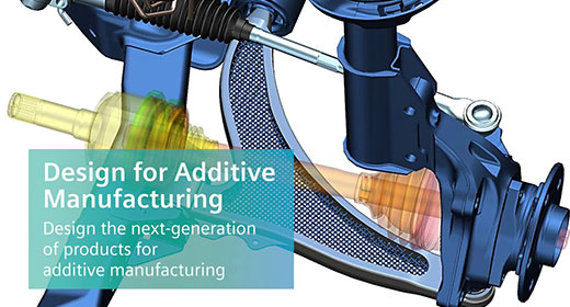 Siemens NX 12 CAD Additive Design Software