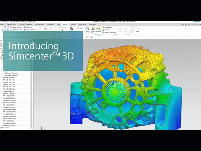 Simcenter 3D - 3D CAE for the digital Twin